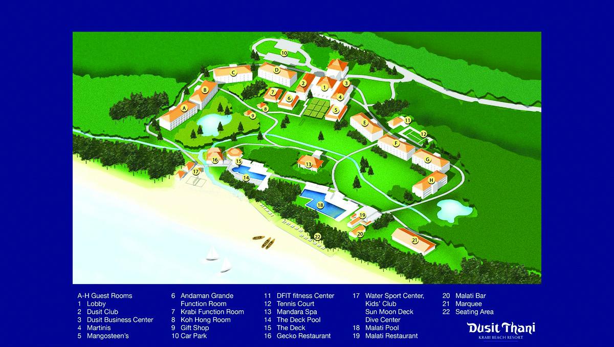 Dusit Thani Krabi Beach Resort